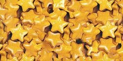 Sweetworks Shimmer Gold Stars
