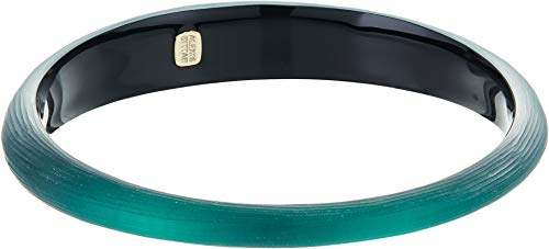 Alexis Bittar Women's Tapered Bangle Bracelet Black Forest One Size