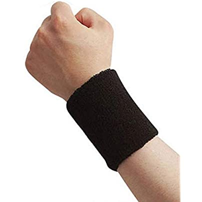 1Pcs Wristband Brace Wrap Bandage Gym Strap Running Safety Wrist Support Badminton Wrist Band Estimated Price £8.29 -