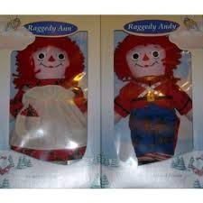 The Adventures of Raggedy Ann and Raggedy Andy Special Edition Dolls