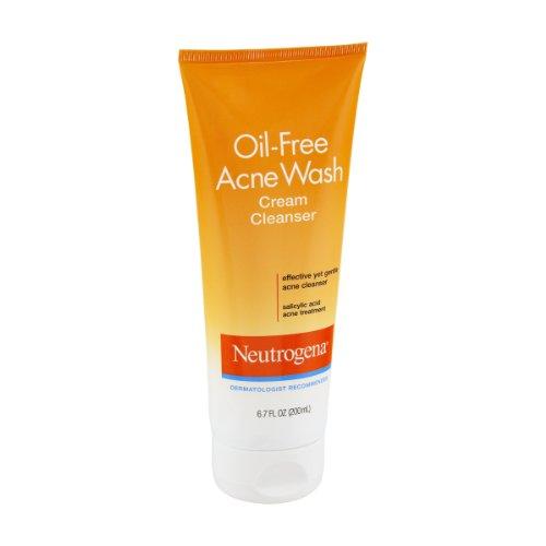 Neutrogena Oil Free Acne Cream Cleanser