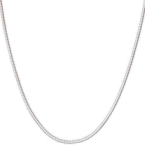 CloseoutWarehouse High Polished Sterling Silver Rope 035 Chain 1.6mm