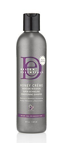 Design Essentials Honey Creme Moisture Retention Super Detangling Conditioning Shampoo - 8 Fl Oz (Best Shampoo For 4c Hair)