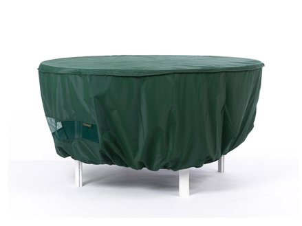 CoverMates – Outdoor Patio Round Dining Table Cover 72DIAMETER x 25H – Classic Collection – 2 YR Warranty – Year Around Protection- Green