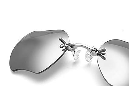 Amazon.com: Pack de 3 gafas de sol retro con clip para nariz ...