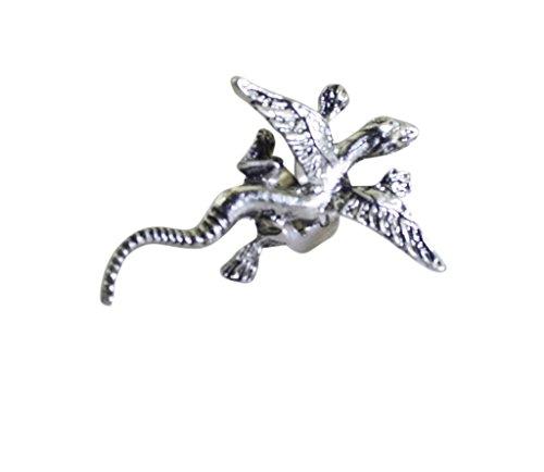 Riyo alliage brut boucle d'oreille plaine chaîne de main engageante bijoux fae-0063