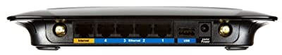 Linksys WRT160NL Wireless-N Broadband Router with Storage Link (Compatible with Linux)