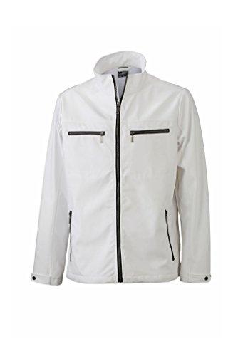 Design Uomo Tailored Alla Men's White Nuovo Softshell Giacca Moda vIdf6dx