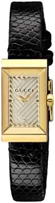 Gucci G-Frame Silver Dial Ladies Watch YA147507