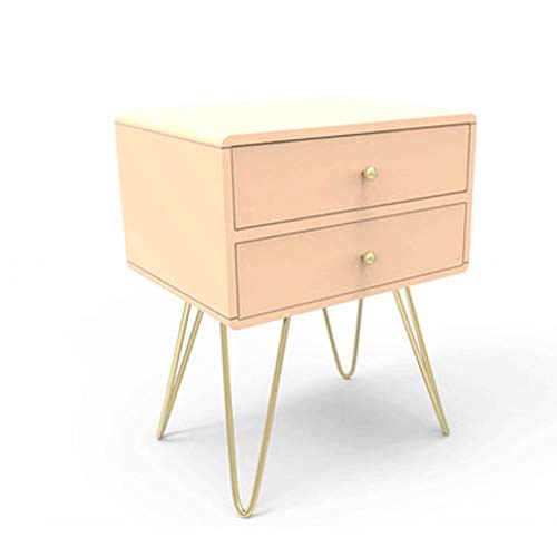 Cute Light Pink Bedside Table