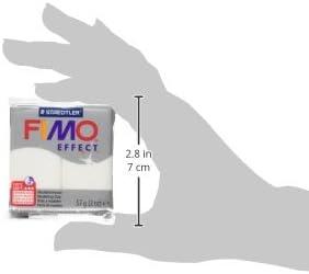 Glitzer-Wei/ß 56,7 g Staedtler 8020-052 Fimo Effect Polymer-Modelliermasse