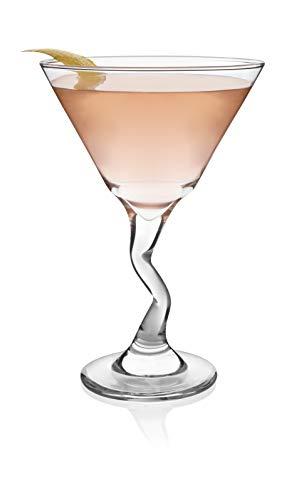 Libbey Z-Stem Martini Glasses, Set of 4 -