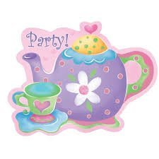 Tea Party Party Invitations (8 count)