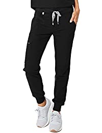 Zamora 2.0 Jogger Style Scrub Pants for Women - Slim Fit, Anti-Wrinkle Medical Scrub Pants