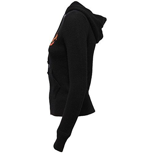 Sweater Ralph 9579V Wool Lauren Slim Maglione Donna Woman Nero Cashmere Black wrqrY1HPfx