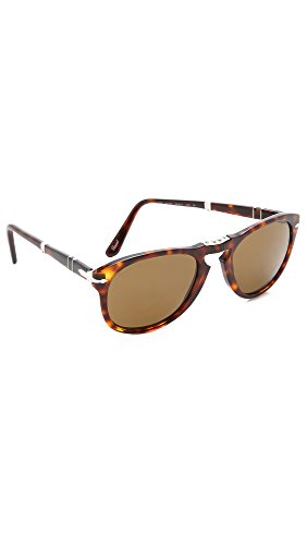 Persol Men's Folding Classic Sunglasses, Havana/Brown Polar, One - Vintage Persol Sunglasses