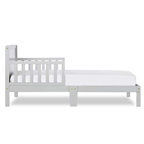 Dream On Me, Brookside Toddler Bed, Pebble Grey