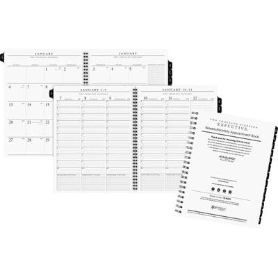 AAG7091110 - At-a-Glance Executive Recycled Weekly/Monthly Planner Refill
