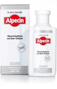 Silver Tonico Minerale 200 ml Lozione Per Capelli Grigi Alpecin