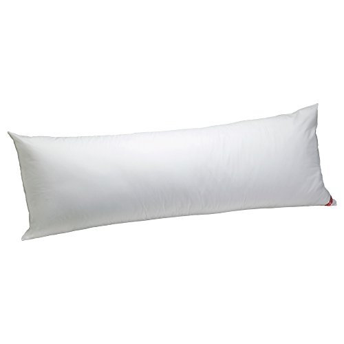 Super 100 Fabric - Aller-Ease Cotton Hypoallergenic Allergy Protection Body Pillow, 20