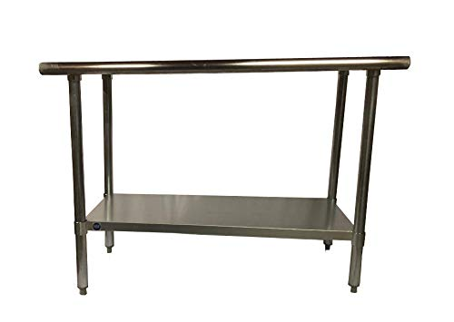 Stainless Steel Kitchen Food Prep Work Table 18 x 24 - NSF - Heavy Duty