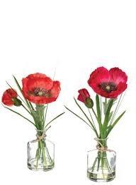 サリヴァンの人工花柄Poppies B07BTRCPXP