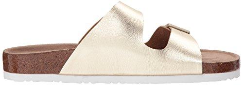Gold Riemen Sandale Bequem Zwei Hippie Skechers41077 Zum Reinschlüpfen Granola Damen Missus Klassisch wqxYqP4z