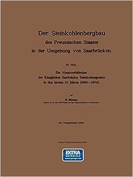 Libros electrónicos gratuitos para j2me «Der Steinkohlenbergbau Des Preussischen Staates In Der Umgebung Von Saarbrucken: Iv. Teil. Die Absatzverhaltnisse Der Koniglichen Saarbrucker Steinkoh»