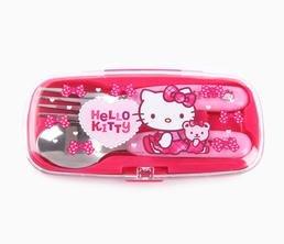 Hello Kitty 2 Piece Cutlery Set: Sunday