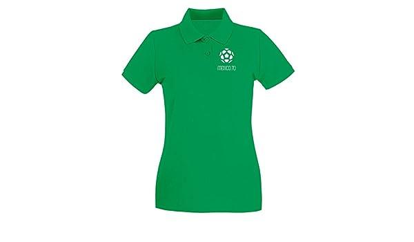 T-Shirtshock - Polo para Mujer WC0139 MESSICO Mexico, Talla L ...