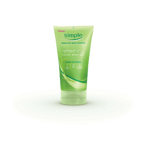 Simple Refreshing Facial Wash Gel, 5 (Face Wash Gel)