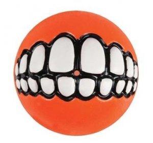 Pelota sonrisa para perro color naranja 8 cm: Amazon.es: Productos para mascotas