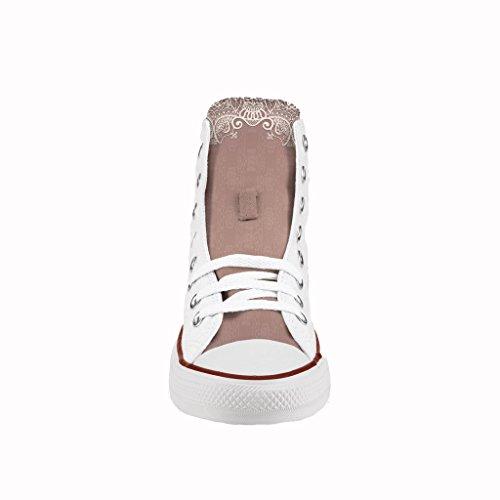 Scarpe Converse Personalizzate All Star Alta - sneakers stampa Chic