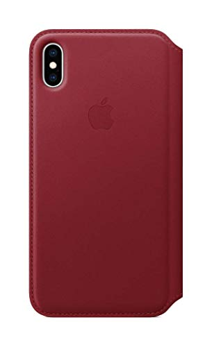 Apple Leather Folio (for iPhone Xs Max) - (Product) RED