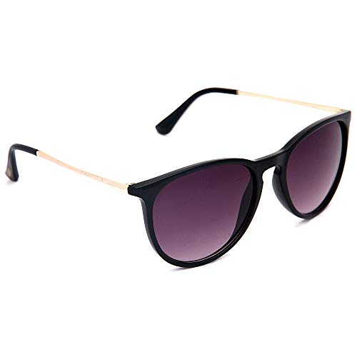 JOOX Classic Round Sunglasses for Women UV400 Lens Vintage Retro Glasses ()