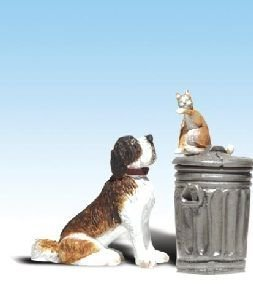 最大80%オフ! Woodland Scenics A2524 G by Scale Scale Dog w/Cat [並行輸入品] On Trashcan by Woodland Scenics [並行輸入品] B00U1ZPG3U, citron glaces:e5bc5787 --- a0267596.xsph.ru