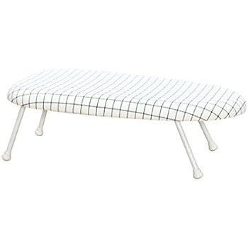StorageManiac Tabletop Ironing Board With Folding Legs, Folding Ironing  Board With Cotton Cover