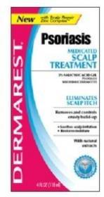 Dermarest traitement de la peau Psoriasis médicamenteux 4 fl oz
