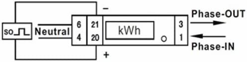 MID-Wechselstromz/ähler Stromz/ähler Zwischenz/ähler 220//230V DIN-Hutschiene digital kWh MID-geeicht ZW2
