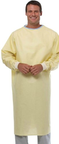 Reusable Isolation Gown (Yellow) - Pack of 6 by NOBLES HEALTH CARE PRODUCT SOLUTIONS