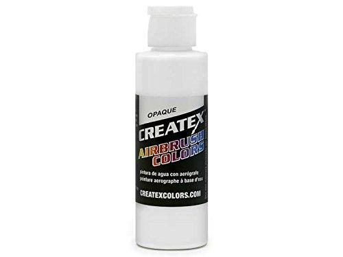 Createx Airbrush Paint, Opaque White, 4 oz (5212-4)