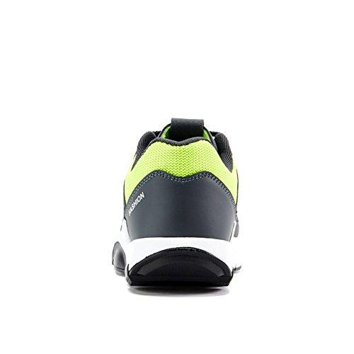 Sneakers Traspiranti Morbide E Comode Per Scarpe Da Running Per Uomo Grigio