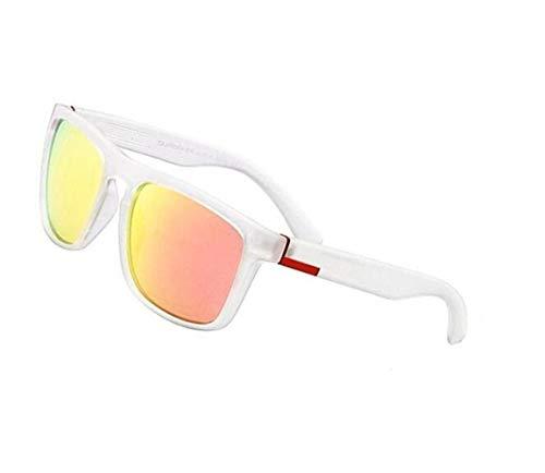 sol Ciclismo de White moda Huyizhi Gafas libre conducir al para Guay para viajar aire hombres Gafas sol de para de Mujeres UV400 protectoras r8qtFOpwtc