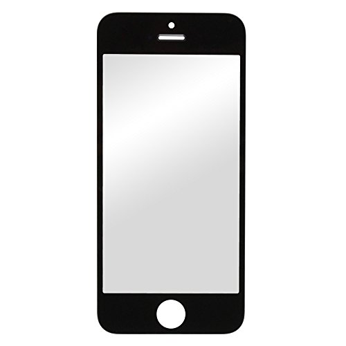 Fenzer Black Replacement Glass Lens Screen for Apple iPhone 5 5C 5G - Replacement Iphone Lense 5c