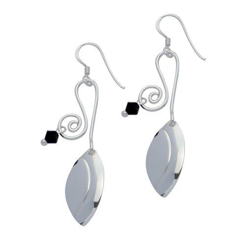 Boucles d'Oreilles Pendantes Femme - E-11321 - Argent Sterling