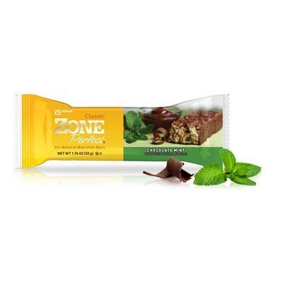 Zone Perfect, Nutrition Bar, Chocolate Mint (Pack of 24)