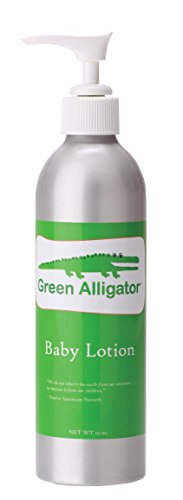Celadon Road Green Alligator Baby Lotion - Hand crafted with Essential Oils and Nourishing Ingredients - Phtlalate and Paraben Free - 10oz - Made in USA made in New England