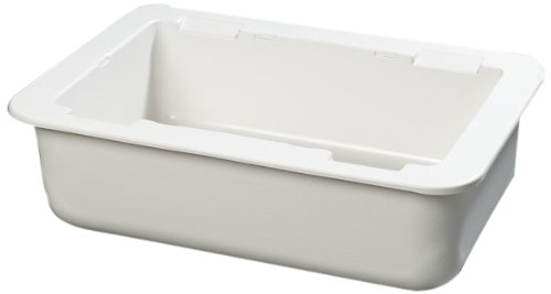 Carlisle CM104202 Coldmaster Full Size Insulated Cold Pan Holder, 24.1 Quart Capacity, 6