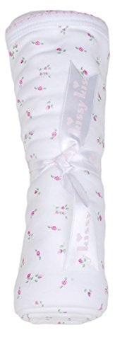 Kissy Kissy Baby Girls Garden Roses Print Blanket- One Size