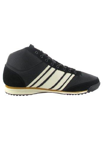 Boras Sale Stockholm - Herren High Top Sneaker - Schwarz Schuhe in Übergrößen